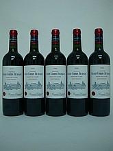 5 bouteilles   CHÂTEAU GRAND CORBIN DESPAGNE 2008 GCC St Emilion
