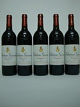 5 bouteilles   CHÂTEAU GISCOURS 1996 GCC3 Margaux