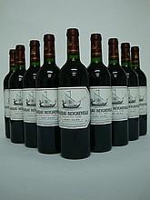 9 bouteilles   CHÂTEAU BEYCHEVELLE 1995 GCC4 St Julien (2 e.l.s.)
