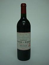 1 bouteille   CHÂTEAU LYNCH BAGES 1990 GCC5 Pauillac (e.l.s.)