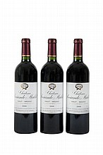 3 bouteilles   CHÂTEAU SOCIANDO MALLET 2000 Haut Médoc