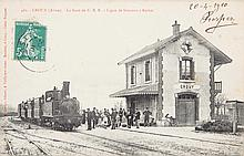 27 CARTE(S) POSTALE(S) AFFRANCHIE(S) (POSTCARDS - POST CARDS)SELECTION France