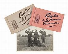 CHANTIERS DE LA JEUNESSE FRANÇAISE.1940