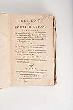 LE BLOND (Guillaume) - Eléments de fortifications (?)