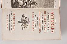GOMEZ (Marie-Angélique POISSON, dame de) - Les Journées amusantes, dédiées au Roi. 9ème édition.