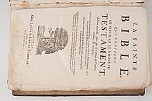 [anonyme] - La Sainte Bible qui contient le vieux et le nouveau testament édition nouvelle faite sur la version de Genêve, reveuë & corrigée, outre les anciennes notes, de toutes celles de la bible flamande, de la plus part de celles de M.