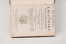 BOSSUET (Jacques Bénigne) - Discours sur l?histoire universelle à Monseigneur le Dauphin. Pour expliquer la suite de la Religion & les changemens des Empires.