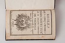 VIGNOLE (Jacques Barrozio de) - Règles des cinq ordres d'architecture de M. Jacques Barozzio de Vignole. Traduction nouvelle & augmentation de ses ?uvres.