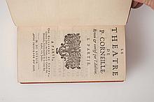 CORNEILLE (Pierre)  - Le Théâtre, reveu & corrigé par l'autheur.