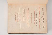 EON DE BEAUMONT (Charles d?). ? Lettres, mémoires & négociations particulières du Chevalier d?Eon (?)