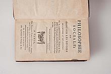 DUROSOY (Abbé). - Philosophie sociale. Essai sur les devoirs de l'homme et du citoyen.