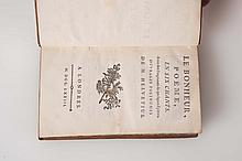 HELVETIUS (Claude-Adrien). - Le Bonheur. Poëme en six chants avec des fragments de quelques épîtres. Ouvrages posthumes de M. Helvetius.