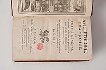 [BULLIARD (Pierre)]. - Aviceptologie francais ou Traité général de toutes les ruses dont on peut se servir pour prendre les Oiseaux qui se trouvent en France.