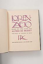 MUSSET (Alfred de) ? [BARTE]. - Lorenzaccio. Drame en cinq actes.