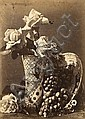 CHARLES AUBRY (1811-1877) ROSES ET RAISINS, vers, Charles Aubry, Click for value