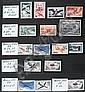 Réunion (CFA) :  collection de timbres-poste neuve  ainsi que grandes séries coloniales  dans un album.