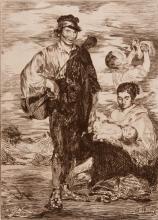 EDOUARD MANET (1832-1883)  Les Gitanos