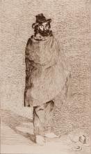 EDOUARD MANET (1832-1883)  Le philosophe