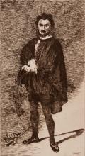 EDOUARD MANET (1832-1883)  L'acteur tragique (Rouvie?re dans le ro?le d'Hamlet)