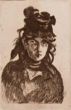 EDOUARD MANET (1832-1883)  Berthe Morisot