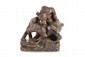 Charles PAILLET (1871-1937) Oursons. Groupe en bronze à patine brune. Signé, estampillé M 941, marqué fonte Siot-Decauville. H. : 21 cm. L. : 22 cm. P. : 22 cm. Bear cubs. Bronze group with brown patina. (Signed, stamped and marked). 8,3 in. High,