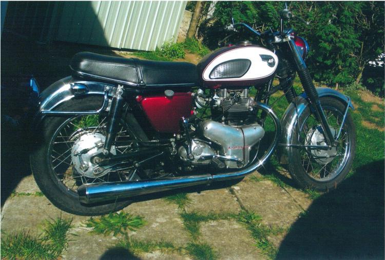 Kawasaki 650 W1 1968
