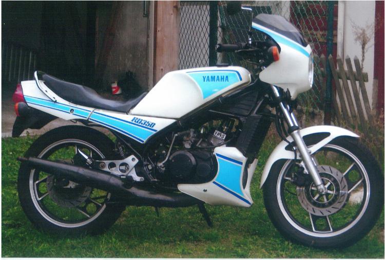 Yamaha 350 RDLC 31K 1983