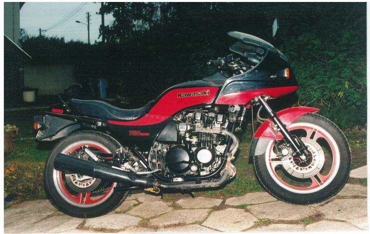 Kawasaki 750 turbo 1984