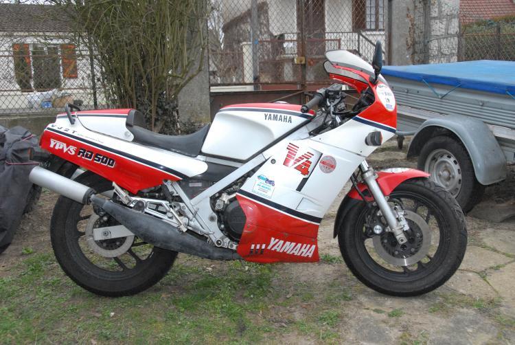 Yamaha 500 RDLC 1985