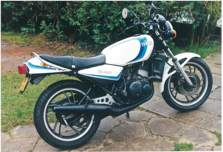 Yamaha 350 RDLC 1981