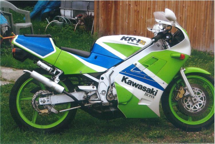 Kawasaki 250 KR 1990