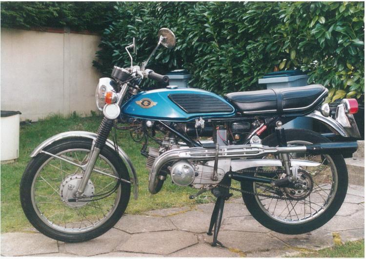 Suzuki T125 1970