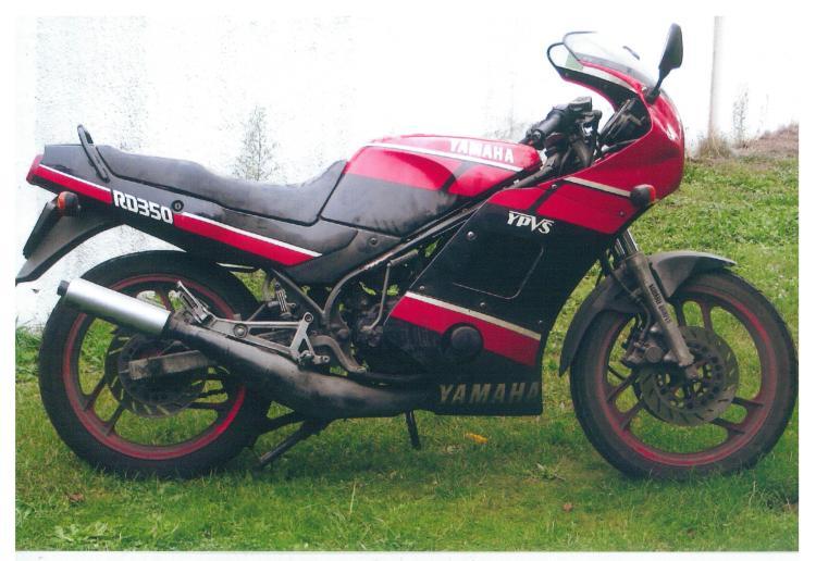 Yamaha 350 RDLC 1988