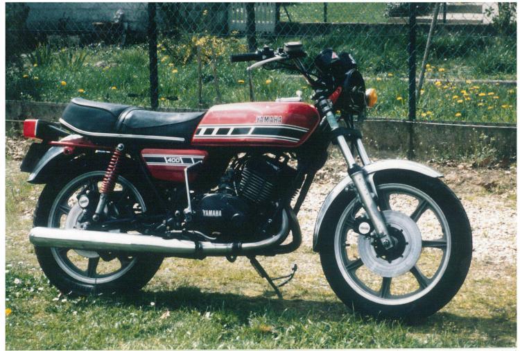 Yamaha RD400 1976 1976