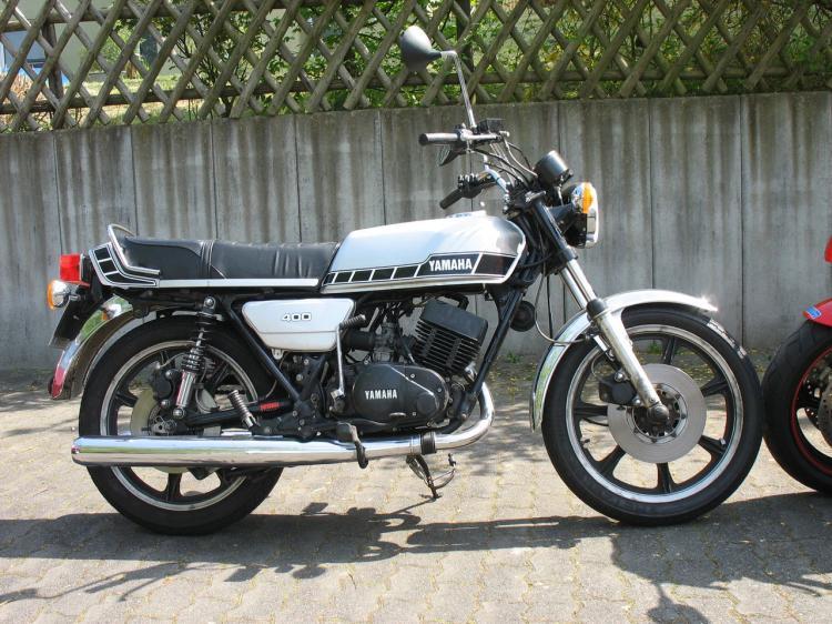Yamaha 400 RD 1980