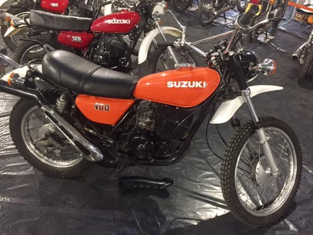 Suzuki TS400 Apache 1976