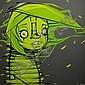 MonstaDont resist (2012).Acrylique sur toile.100 x 100 cm.