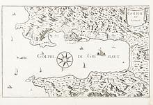 TASSIN   Golphe de Grimaut. Gravure, 1634. 31 x 51 cm. P. Tassin II 34.
