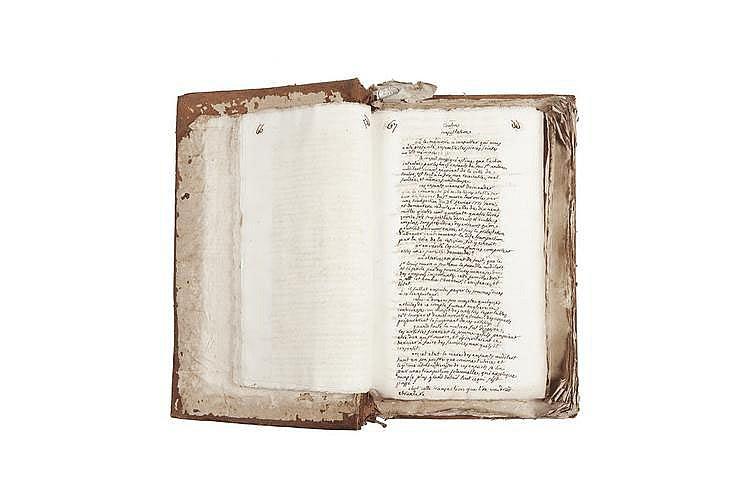 PORTALIS Jean-Etienne-Marie (1746-1807) Consultations Tome XV MANUSCRIT, 1783, un volume in-folio, environ 600 pages écrites à l'encre brune et à l'encre noire sur papier vergé filigrané