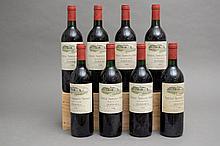 8 bouteilles CHÂTEAU TROPLONG MONDOT (2 B.G; e.t.h.) 1989 GCC1B St Emilion