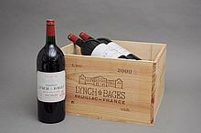 6 magnum CHÂTEAU LYNCH BAGES (Caisse Bois sans couvercle) 2000 GCC5 Pauillac