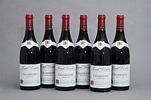 6 bouteilles CHAMBERTIN (Grand Cru) 1995 Drouhin