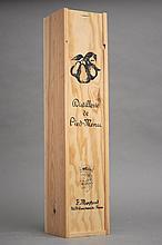 1 magnum EAU DE VIE VIEILLE PRUNE DOMAINE DE PIED MENU (Caisse Bois) NM Moyroud
