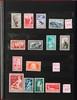 monaco :  Poste aérienne (dont Yvert n°15 à 41, 59,  60), Préos (n°11 à 43), timbres-poste neufs  sans charnière et divers dans un classeur