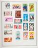 pays indépendants d'aFrique,  camBodGe, Laos  timbres-poste neufs et oblitérés dans  quatre albums thiaude.