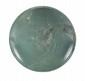 GRANDE COUPE THINITE  Légèrement évasée, à bord arrondi replié vers l'intérieur ; gravé  d'un cercle au centre. Beau poli. (Restaurations). Pierre verte.  Pièce similaire au British Museum.  Egypte. Epoque thinite.  D. : 32.5 cm.