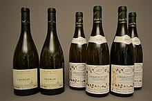 4 bouteilles CHABLIS FOURCHAUME (1er Cru) 2011 Séguinot & Filles  -  2 bouteilles CHABLIS LES GRANDS TERROIRS 2011 Samuel Billaud