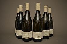 6 bouteilles CHASSAGNE MONTRACHET MORGEOT Blanc (1er Cru) 2010 Domaine Olivier