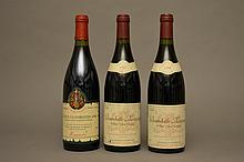 1 bouteille CHAMBOLLE MUSIGNY AUX ECHANGES (1er Cru) e.l.a. 1998 Leymarie Nég.  -  1 bouteille CHAMBOLLE MUSIGNY AUX ECHANGES (1er Cru) e.l.a. 1997 Leymarie Nég.  -  1 bouteille GEVREY CHAMBERTIN TASTEVINE 1989 Mommessin