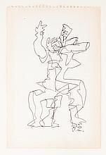 OSSIP ZADKINE (1890-1967)  Danseur no.1